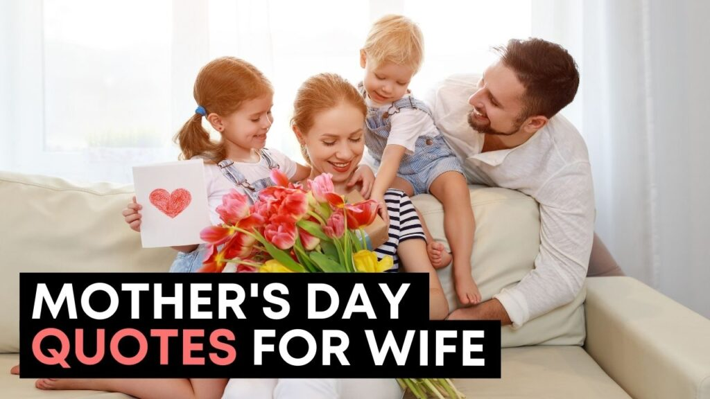 Happy Mothers Day Quotes For Wife - Youtube Video Cover