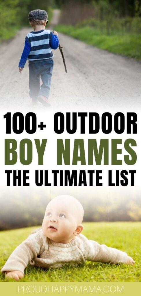 Strong Outdoor Boy Names