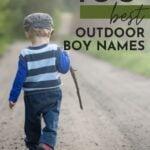 Unique Outdoor Boy Names