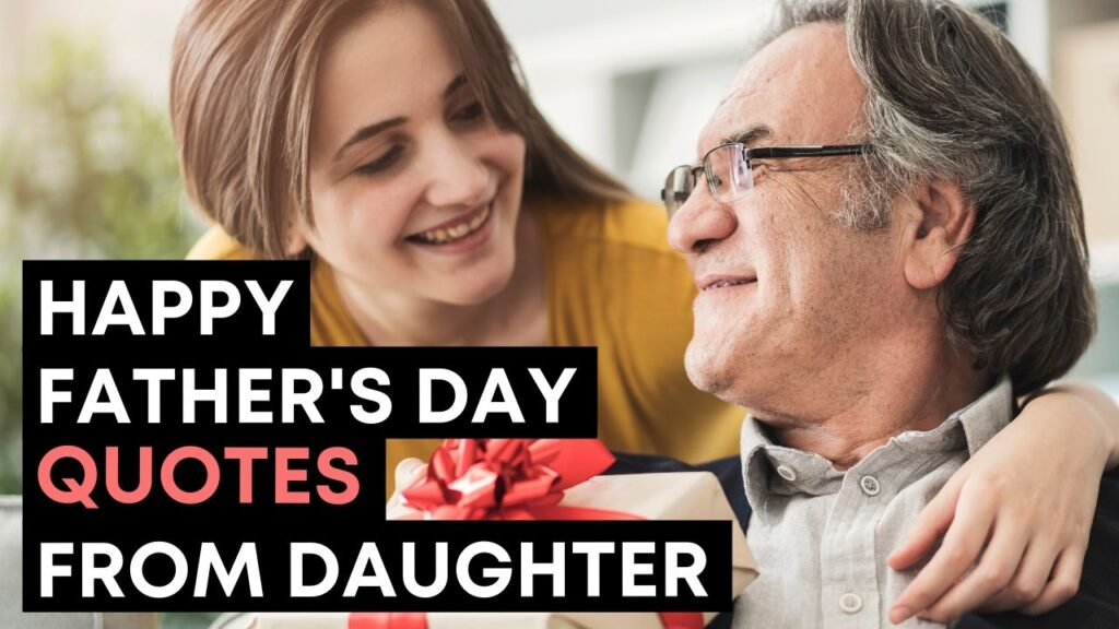 Best Happy Fathers Day Quotes From Daughter - YouTube Video Cover
