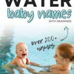 Boy Names That Mean Water