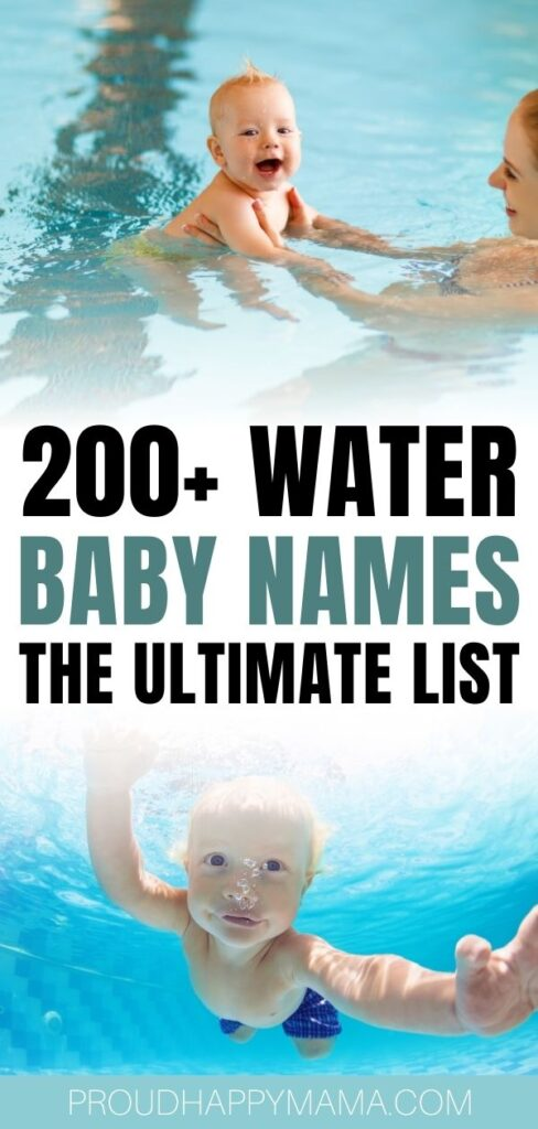 Girl Names That Mean Water