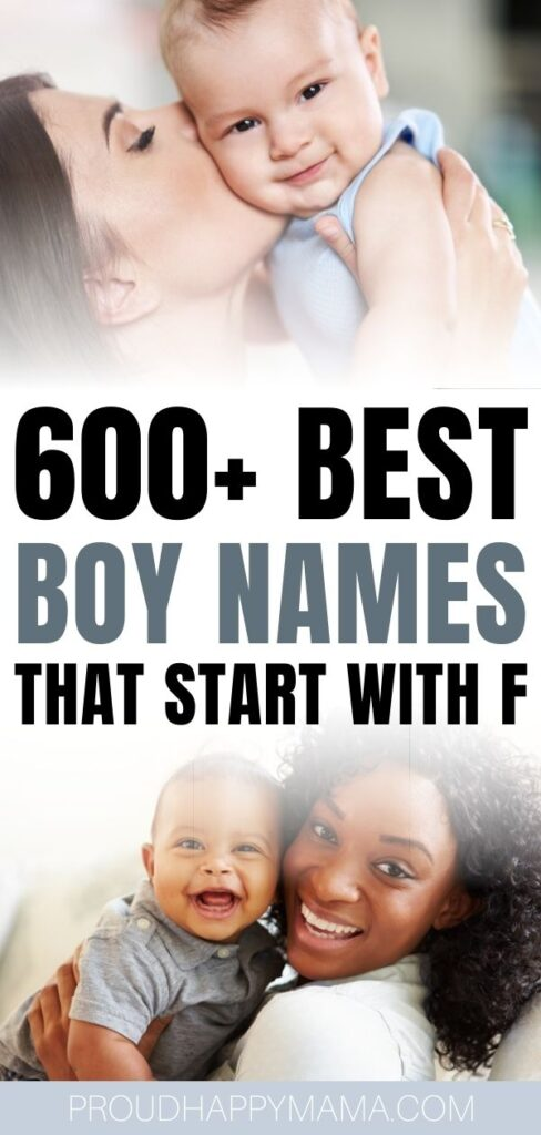Baby Boy Names That Start With F