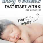 Best Boy Names That Start With C