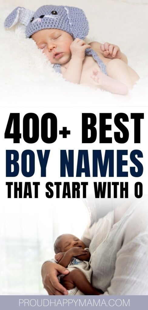 Best Boy Names That Start With O