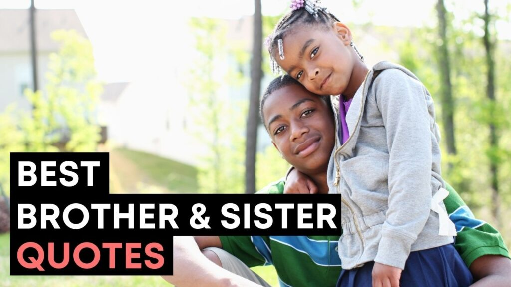 Best Brother And Sister Quotes And Sayings YouTube Video Cover