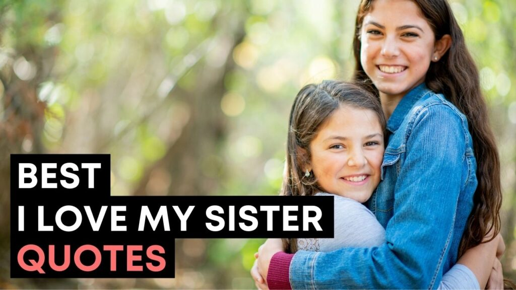 Best I Love My Sister Quotes And Sayings - Youtube Video Cover