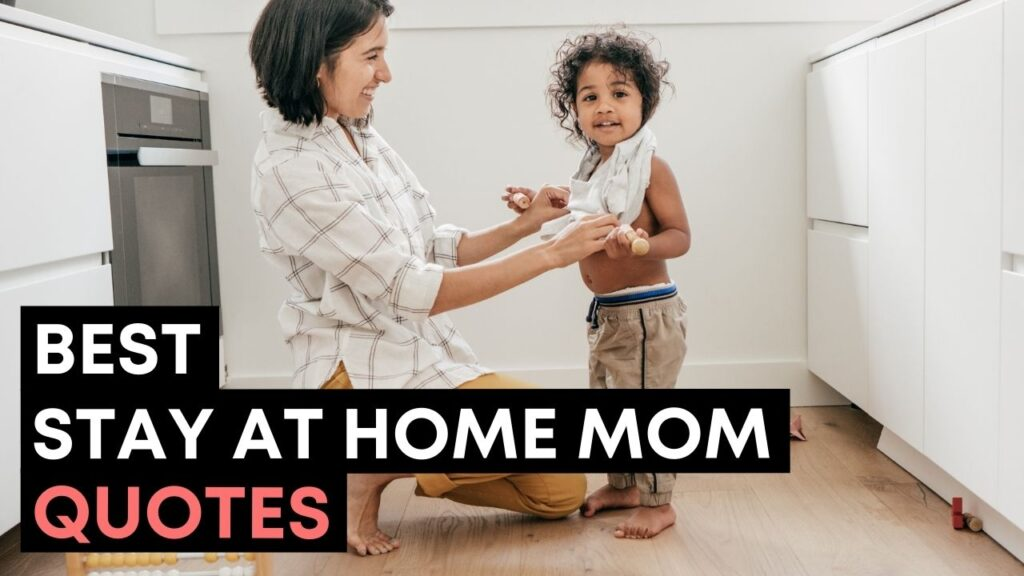 Best Stay At Home Mom Quotes And Sayings YouTube Video Cover