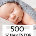Cute Baby Boy Names That Start With G