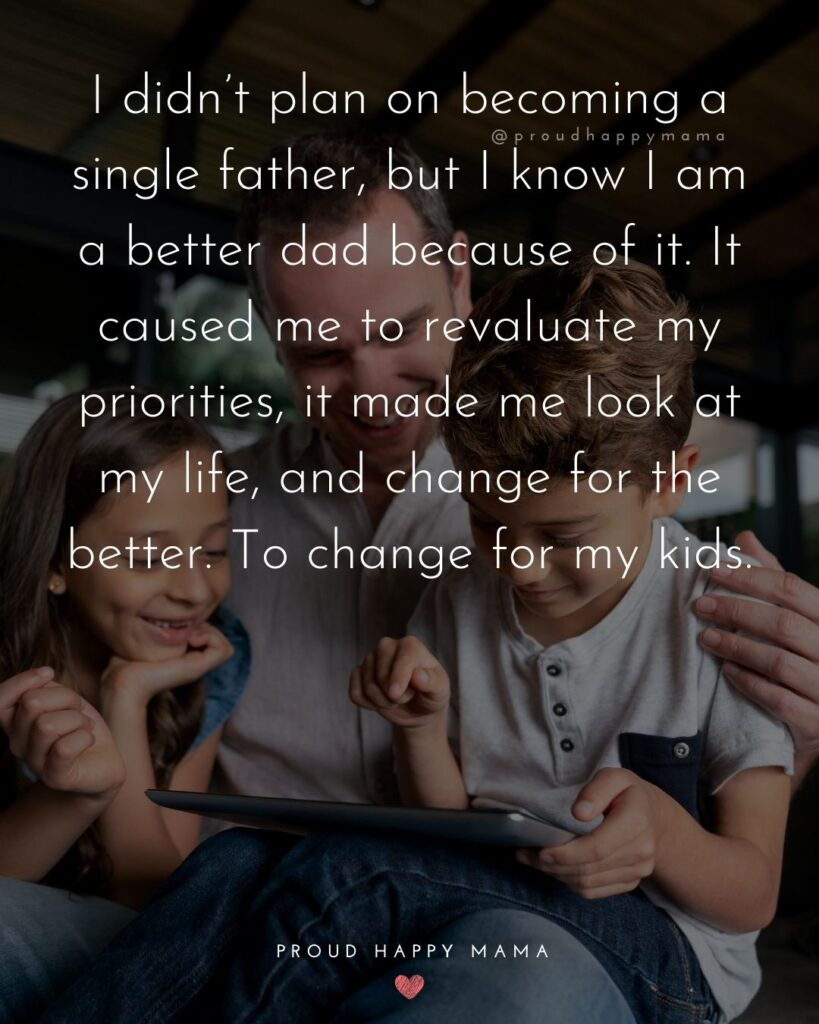 Single Dad Quotes - I didn't plan on becoming a single father, but I know I am a better dad because of it. It caused me to