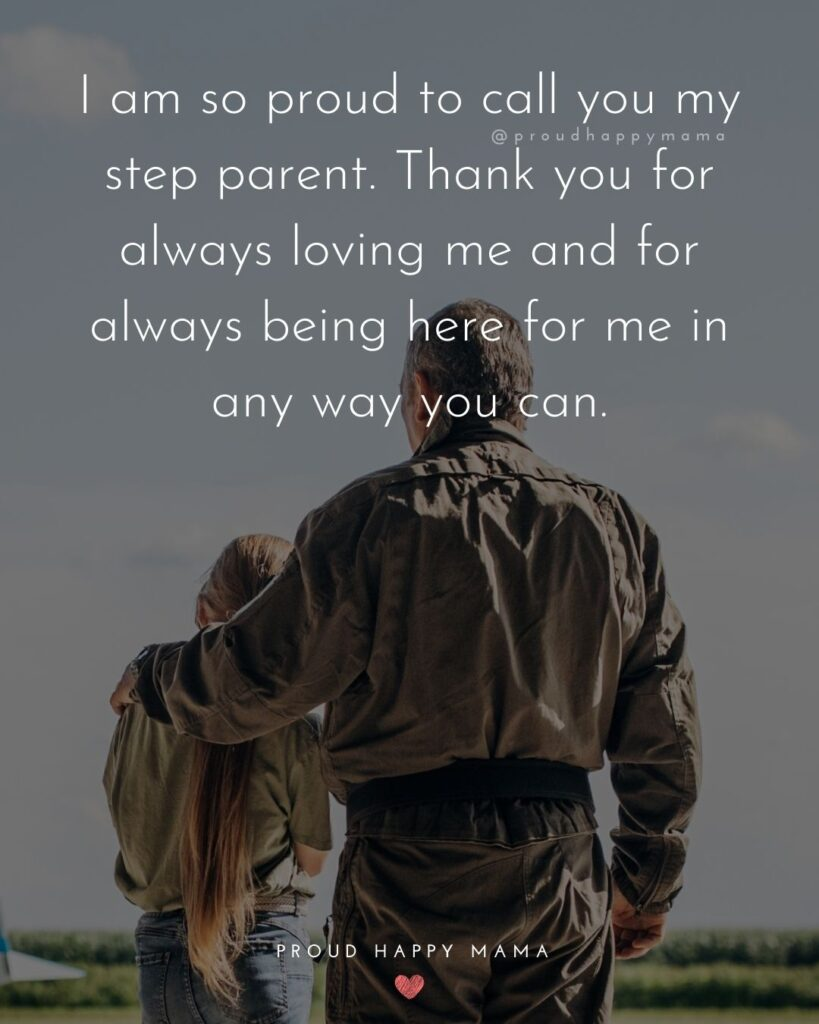 Step Parent Quotes - I am so grateful for my step parent, they always inspired me to be the best version of myself.'