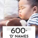 Unique Boy Names That Start With D