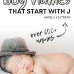 Unique Boy Names That Start With J
