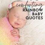 rainbow baby girl quotes