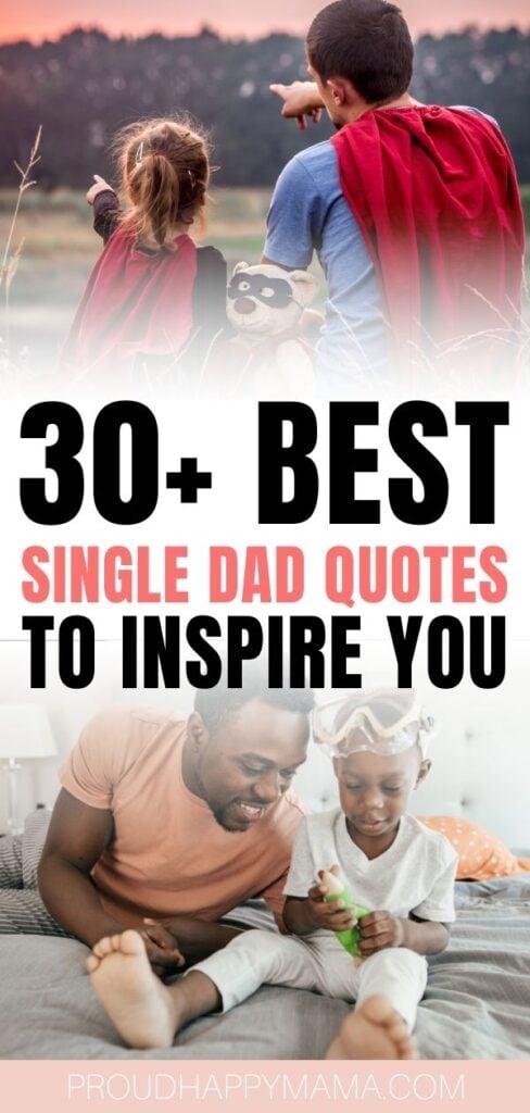single dad quotes