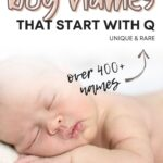 Baby Boy Names That Start With Q