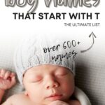 Baby Boy Names That Start With T