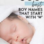 Baby Boy Names That Start With W