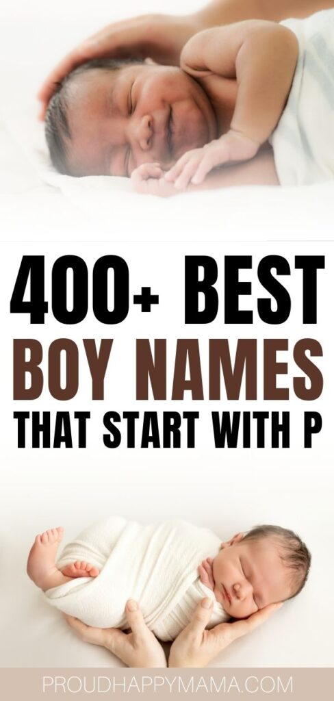 Best Boy Names That Start With P