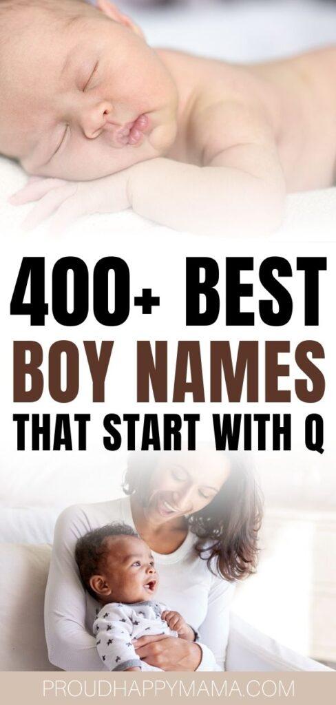 Best Boy Names That Start With Q
