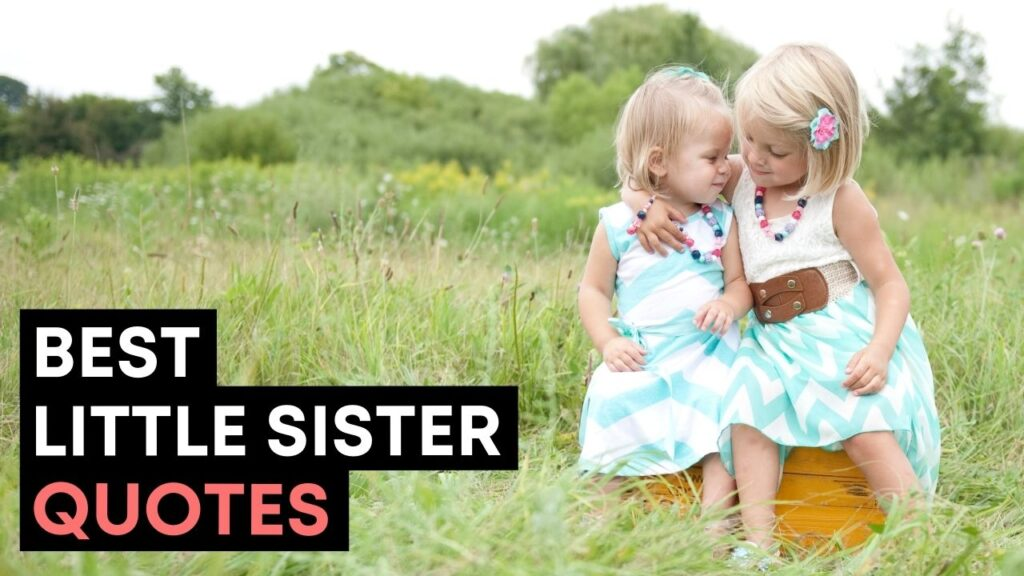 Best Little Sister Quotes And Sayings - YouTube Video Cover