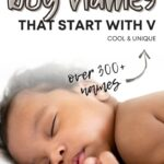 Cute Baby Boy Names That Start With V
