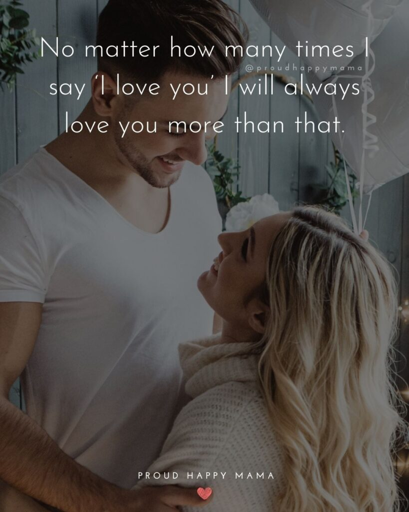 Love Quotes For Her - Forever is how I want to spend my time with you.'