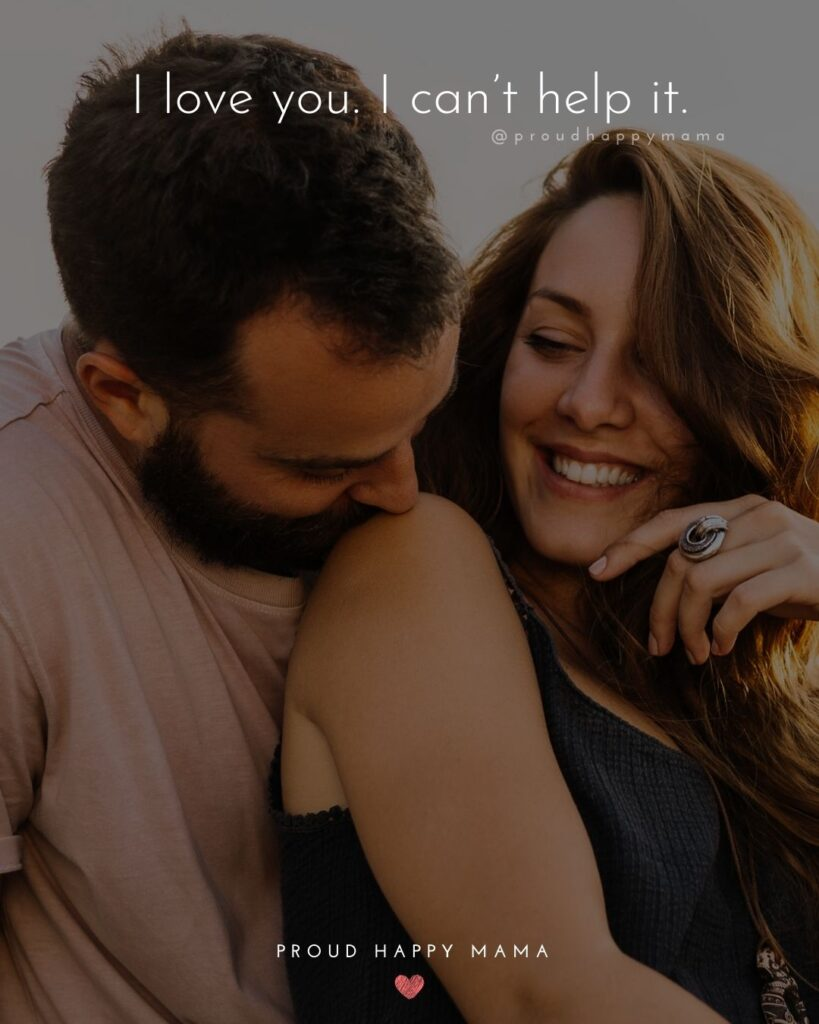 Love Quotes For Her - I am going to love you for all of eternity. And then some more.'