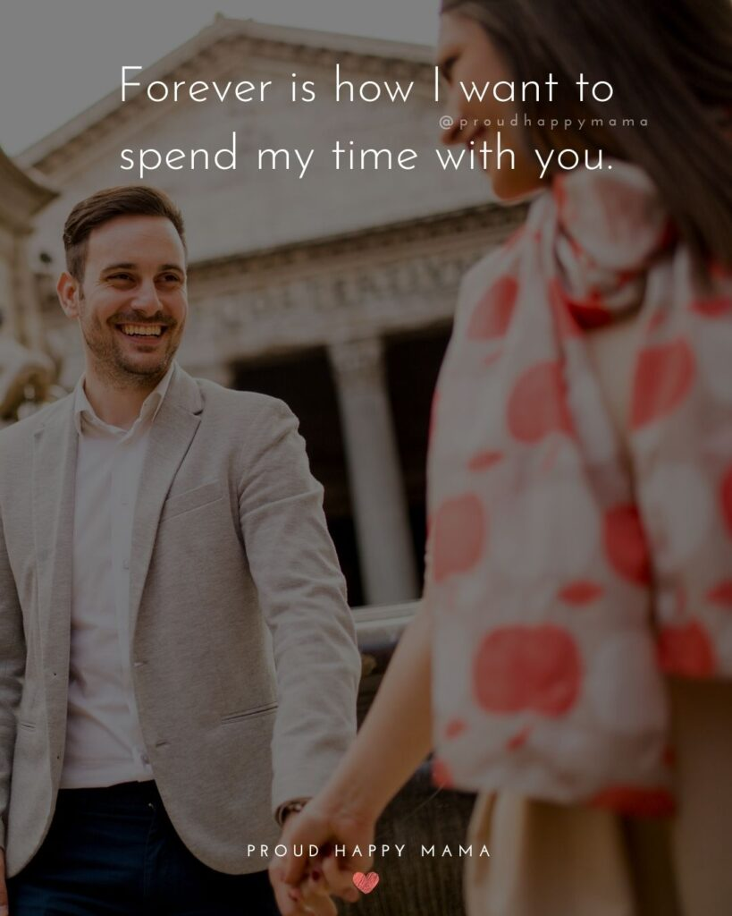 Love Quotes For Her - I love you, nothing and nobody, not even time will change that.'