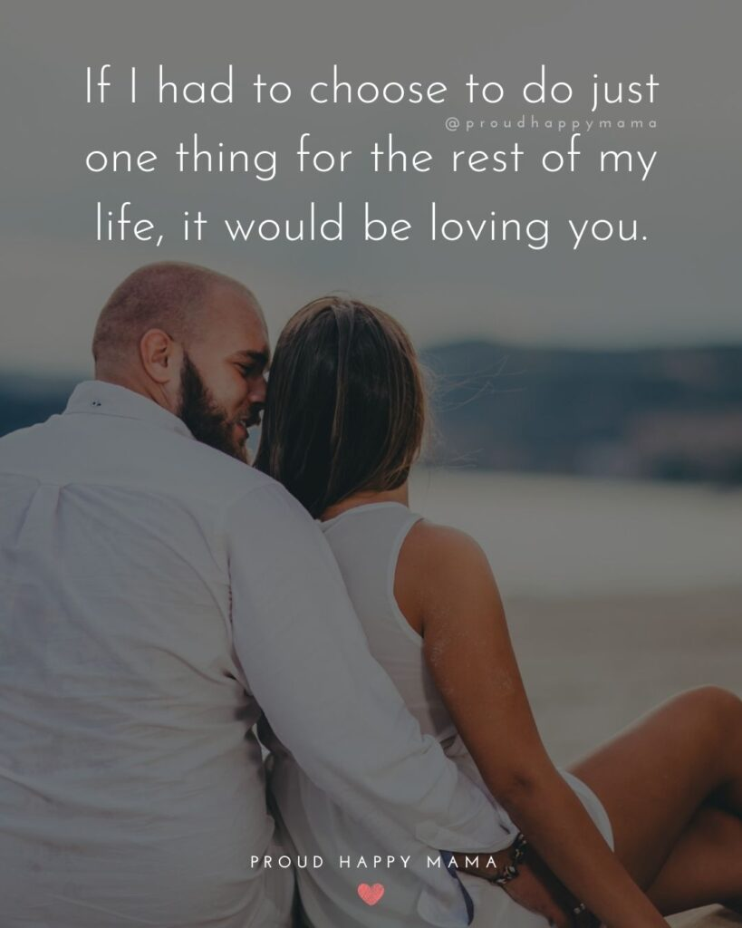 Love Quotes For Her - No matter how many times I say 'I love you' I will always love you ore than that.'