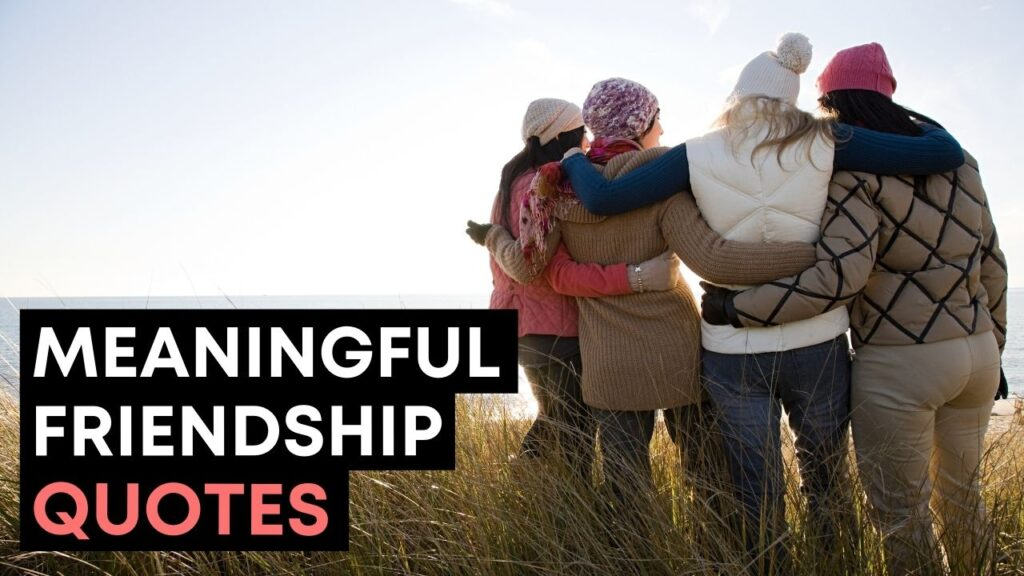 Meaningful Friendship Quotes For Your Best Friend - YouTube Video Cover