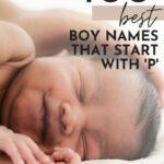 Unique Boy Names That Start With P