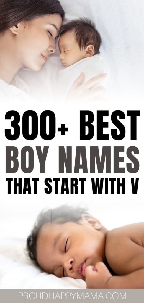 Unique Boy Names That Start With V