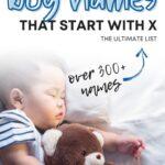 Unique Boy Names That Start With X