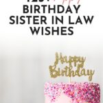 birthday wishes to a sister in law