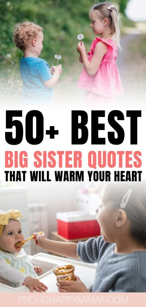quotes about big sisters