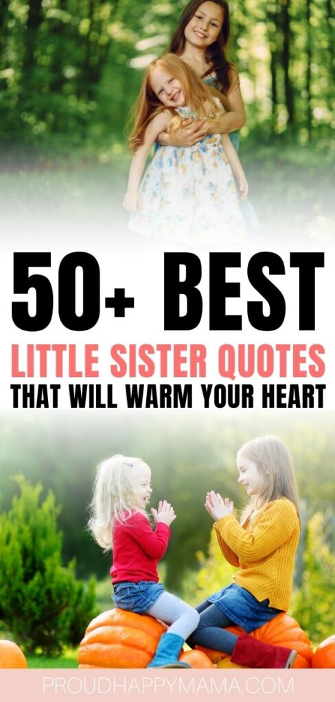 smaller sister quotes