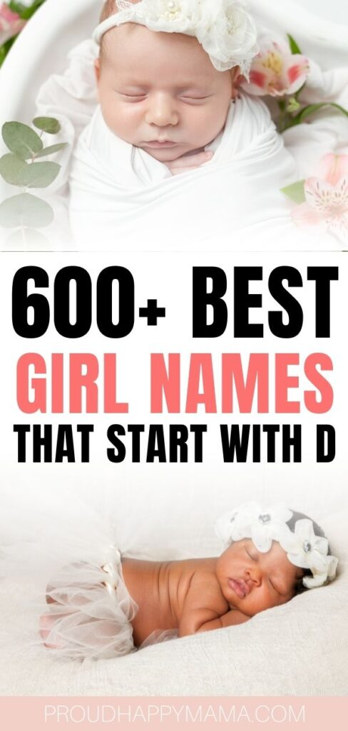Unique Girl Names That Start With D