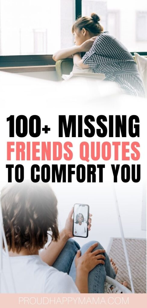 quotes on missing friends