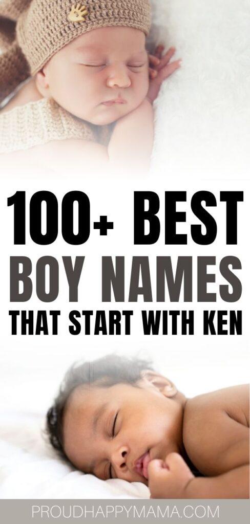 boy names beginning with Ken