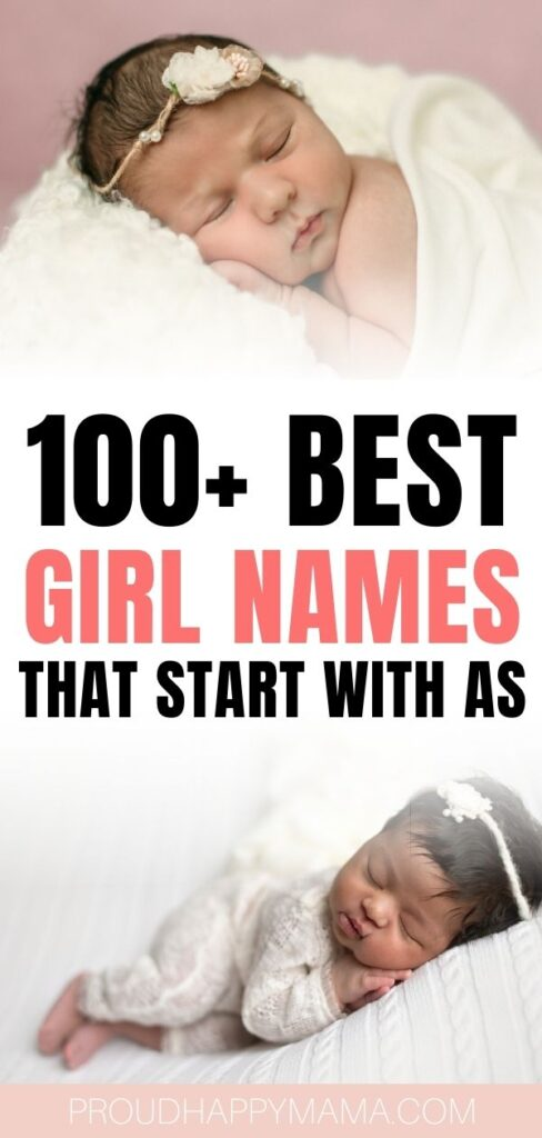 girl names beginning with As